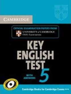 Cambridge Key English Test 5. Student's Book with answers