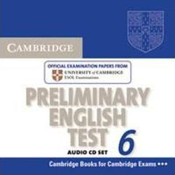 Cambridge Preliminary English Test 6 / 2 Audio-CDs