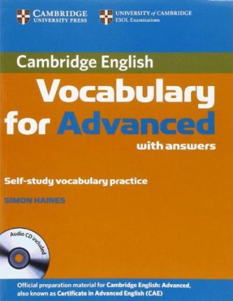 Cambridge Vocabulary for CAE. Edition with answers and Audio-CD