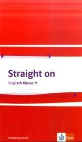 Straight on 1. Vokabellernheft Klasse 11