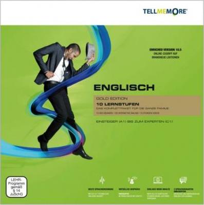 Tell me More Englisch. 10 Lernstufen. Version 10.5 DVD-ROM für Windows 7; Vista; XP