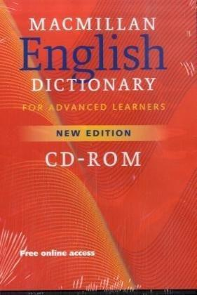 Macmillan English Dictionary for Advanced Learners. CD-ROM für Windows Vista/XP/2000