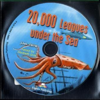20,000 Leagues under the Sea, 1 Audio-CD  Text in English. 500 words (Class 5/6)