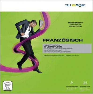 Tell me More Französisch. 5 Lernstufen. Version 10.5 DVD-ROM für Windows 7; Vista; XP