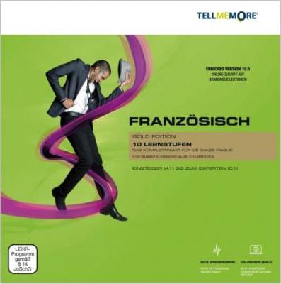 Tell me More Französisch. 10 Lernstufen. Version 10.5 DVD-ROM für Windows 7;Vista; XP