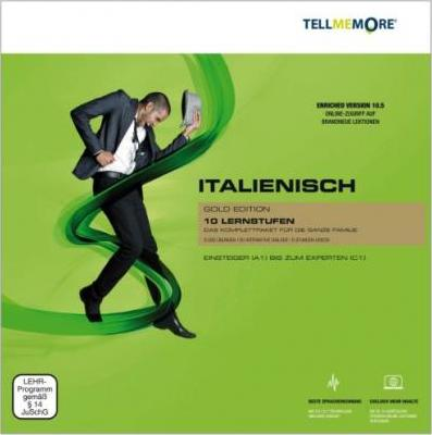 Tell me More Italienisch. 10 Lernstufen. Version 10.5 DVD-ROM für Windows Vista; XP; 2000