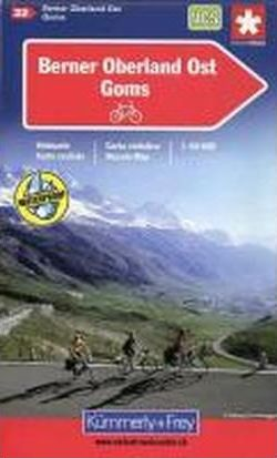 Berner Oberland Ost - Goms Cycle Map