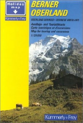 Berner Oberland Hiking Map