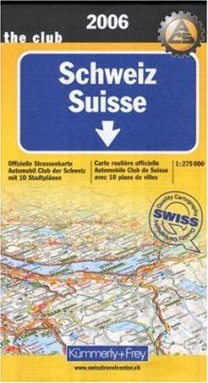 Switzerland: With Town Plans