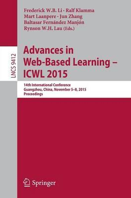 Advances in Web-Based Learning -- ICWL 2015: 14th International Conference, Guangzhou, China, November 5-8, 2015, Proceedings