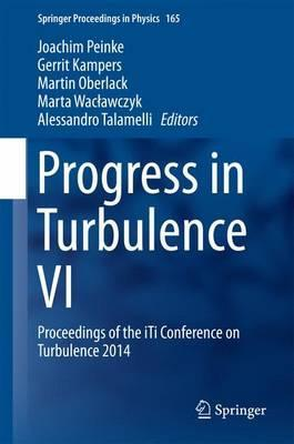 Progress in Turbulence VI