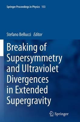 Breaking of Supersymmetry and Ultraviolet Divergences in Extended Supergravity