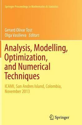 Analysis, Modelling, Optimization, and Numerical Techniques