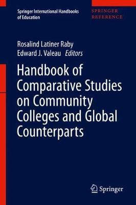 Handbook of Comparative Studies on Community Colleges and Global Counterparts