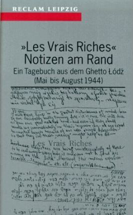 """Les Vrais Riches"" Notizen am Rand"