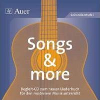 Songs and more. CD