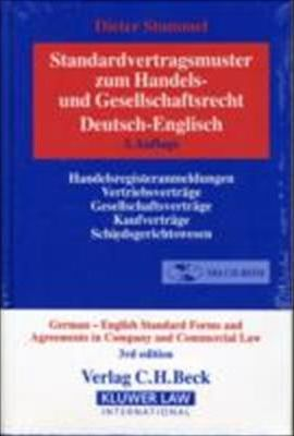 German-English Standard Forms and Agreements in Company and Commercial Law