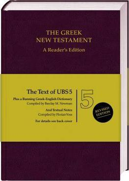UBS 5th Revised Greek New Testament Reader's Edition