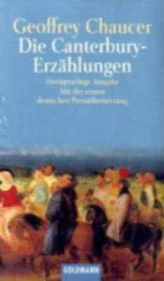Die Canterbury-Erzahlungen - the Canterbury Tales Cover Image