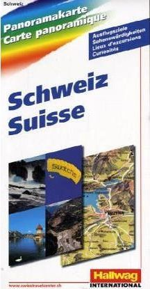 Central Switzerland Map: Panoramic Map