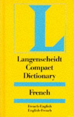 Langenscheidt Compact Dictionary French: French-English, English-French