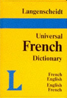 Langenscheidt Universal French Dictionary: French-English, English-French