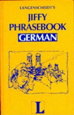 Langenscheidt Jiffy Phrasebook: German