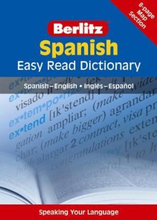 Berlitz Easy Read Dictionary Spanish