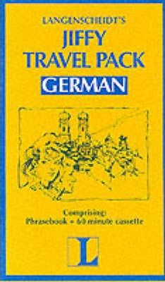 Langenscheidt Jiffy Phrasebook: German - Travel Pack