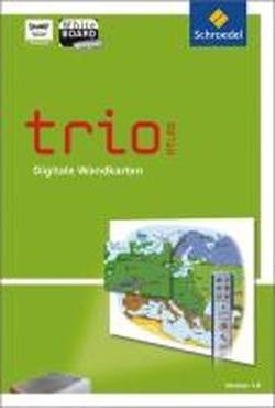 Trio Atlas. Digitale Wandkarten. DVD-ROM