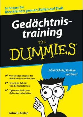 Gedachtnistraining Fur Dummies