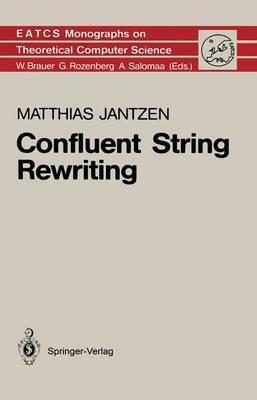 Confluent String Rewriting Cover Image