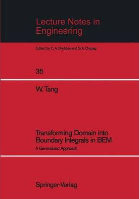 Transforming Domain into Boundary Integrals in BEM  A Generalized Approach
