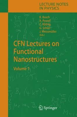 CFN Lectures on Functional Nanostructures