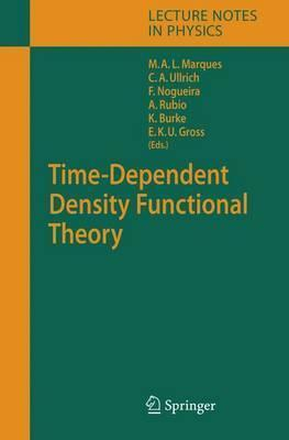 Time-Dependent Density Functional Theory