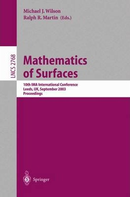 Mathematics of Surfaces