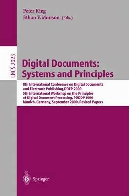 Digital Documents: Systems and Principles
