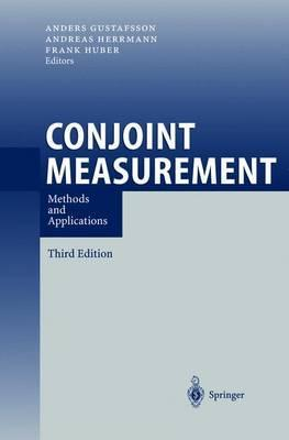 Conjoint Measurement  Methods and Applications