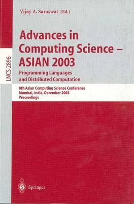 Advances in Computing Science - Asian 2003programming Languages and Distributed Computation