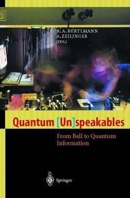 Quantum (Un)speakables  From Bell to Quantum Information