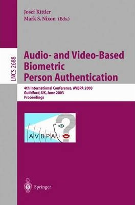 Audio-And Video-Based Biometrie Person Authentication