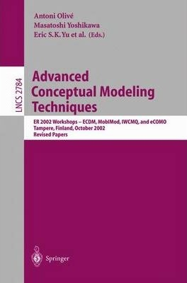 Advanced Conceptual Modeling Techniques