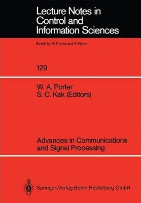 Advances in Communications and Signal Processing