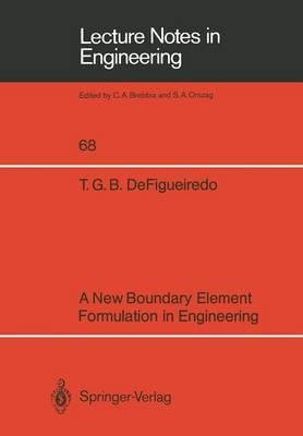 A New Boundary Element Formulation in Engineering : Tania