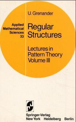 Lectures in Pattern Theory