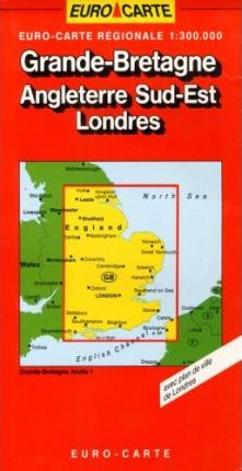 Great Britain Map: London and the South-East Sheet 1