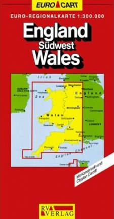 Great Britain Map: Wales and South-West Sheet 2