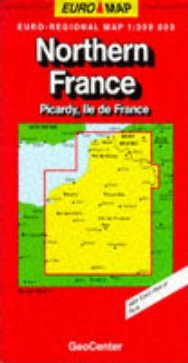 France Map: Northern France/Picardy/Ile-de-France Sheet 1