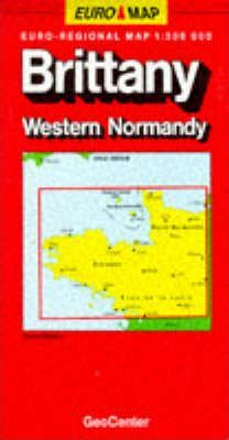 France Map: Brittany/Normandy West Sheet 2