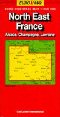 France Map: Alsace-Lorraine/Champagne Sheet 3